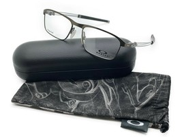 Oakley Titanium Mens Truss Rod Rx Eyeglass Frame Satin Pewter OX5124-0253 New - $106.67