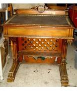 Vtg Antiques Roadshow Pulaski Furniture Desk Wooden Reproduction TLC Res... - $269.99
