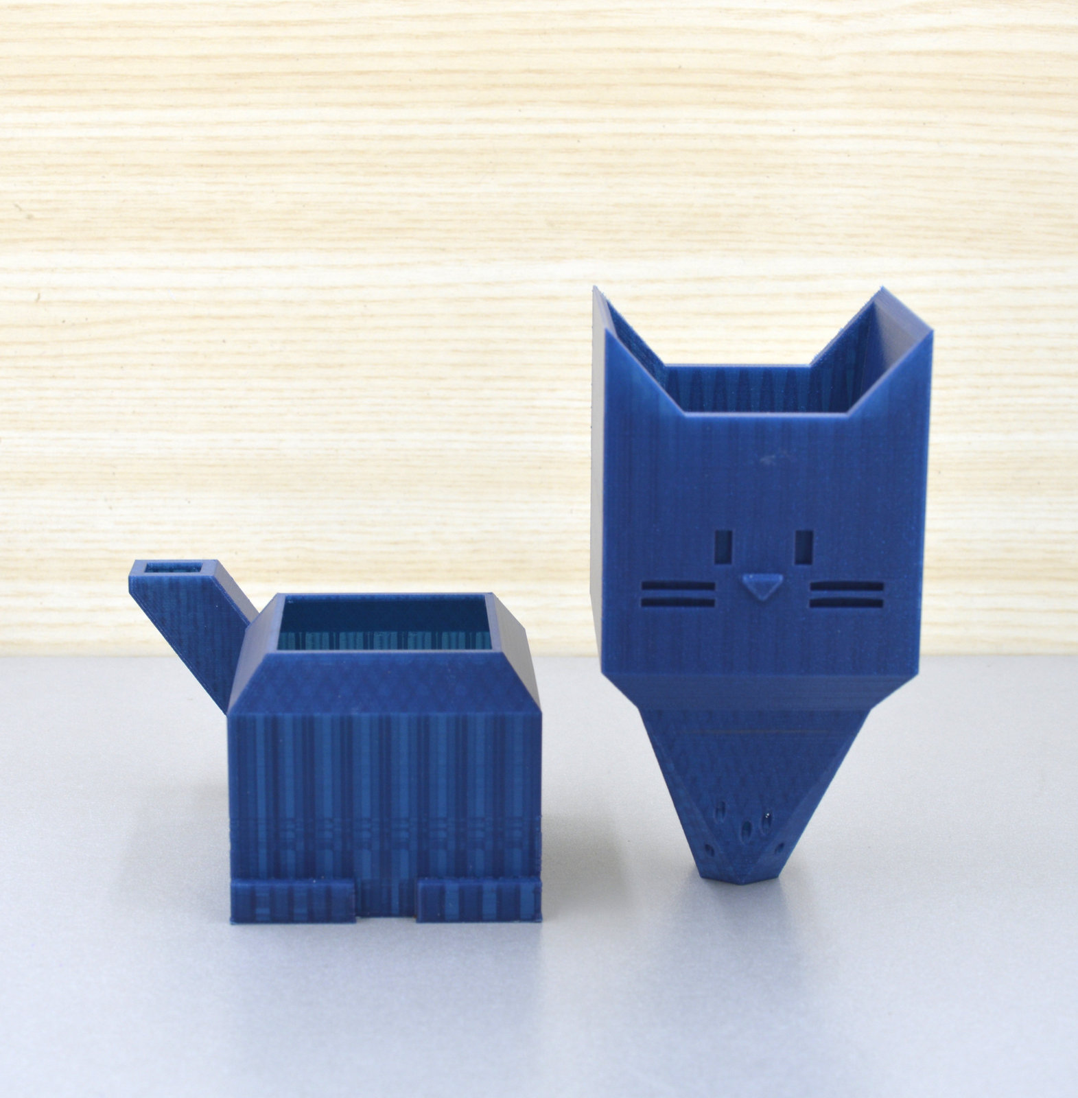 Self watering Succulent planter/Plant pot/kitty planter/3D printed cat planter