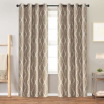 Moroccan Tile Curtains for Living Room Curtains Bedroom Kitchen Linen Te... - $31.90