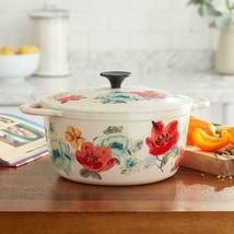 The Pioneer Woman Vintage Bloom 5-Quart Dutch Oven - $64.75