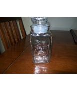 Glass jar with lid apple decor - $5.99