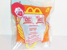 1999 McDonald's Happy Meal Toy- Winnie the Pooh: Gopher Soft Toy #4 - $3.32