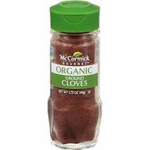 McCormick Gourmet Organic Ground Cloves, 1.75 oz - $12.82