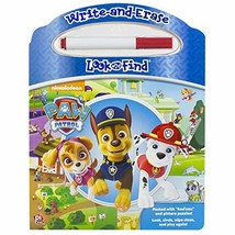 Nickelodeon - Paw Patrol - Write-and-Erase Look and Find Wipe Clean Boar... - $9.74