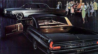 Primary image for 1962 Pontiac Bonneville Sports Coupe & Vista - Promotional Advertising Poster
