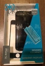 Speck CandyShell & Faceplate Case for iPhone 5c - Black - $8.86