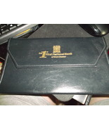 Bank Advertising vinyl Document Holder from First National Bank of West ... - $10.00