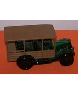 Avon Green Glass BIG MACK Truck Vintage Decante... - $20.00