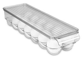 Home Basics Stackable Egg Holder for Refrigerator, Clear - $12.74