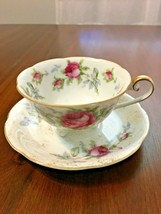 Vintage Lefton China Tea Cup Saji Saucer - $16.04