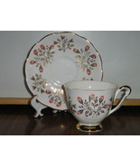 Vintage Queen Anne English Bone China Cup & Sau... - $20.00