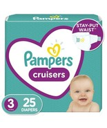 Pampers Cruisers Disposable Diapers - Size 3 (16 - 28 Lb) - 25 Count - $11.37