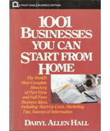 1001 Businesses You Can Start From Home by Daryl Allen Hall  - $4.00