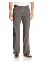 Lee Men's Weekend Chino Straight Fit Flat Front Pant 30X32 - $22.79