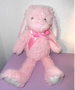 Pink Easter Bunny Rabbit Plush Stuffed Animal Long Ear Inter-American P... - $26.18