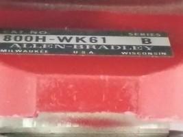 LOT OF 2 ALLEN BRADLEY 800H-WK61 PUSHBUTTONS 800HWK61, SER. B image 2