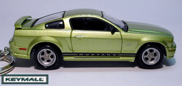 Rare Key Chain 2005~2011 Legend Lime Green Ford Mustang Llavero Porte Cle БРЕ - $39.95