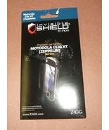 Invisible Shield Zagg Motorola Cliq XT Zeppelin Screen - $2.19