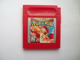 Pokemon Red Version Game - AUTHENTIC - NEW SAVE BATTERY - WORN LABEL  - $19.97