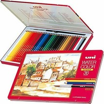 *Mitsubishi Pencil Co., Ltd. watercolor pencil Uni water color 36 colors... - $53.40