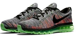 NIKE FLYKNIT AIR MAX MULTI-COLOR WOMEN SIZE 7.5 NEW RARE SHOES (620659-103) image 2