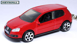 RARE KEY CHAIN RED VW GOLF GTi VOLKSWAGEN PORTACHIAVI LLAVERO SCHLÜSSELA... - $32.95