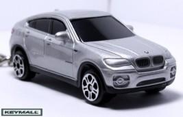 RARE KEY CHAIN SILVER BMW X6 X SERIES PORTE CLE SCHLÜSSELANHÄNGER LLAVER... - $24.98