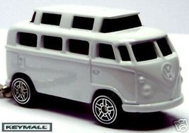 RARE KEY CHAIN WHITE VW CAMPER WESTFALIA VAN VO... - $34.98