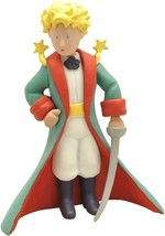 The Little Prince with sword and Little Prince in airplane figurine set Plastoy image 2