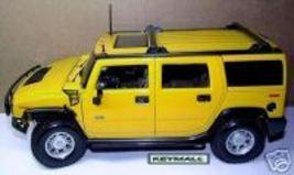 RARE LARGE YELLOW 2006~2007~2008~2009~2010 H2 HUMMER SHOWROOM MODEL DISP... - $39.99