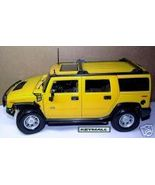 RARE LARGE YELLOW 2006~2007~2008~2009~2010 H2 HUMMER SHOWROOM MODEL DISP... - $39.99