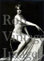 New York City Photo Flapper Barbara Stanwyck NUDE Ziegfeld Follies 1920s... - $9.89