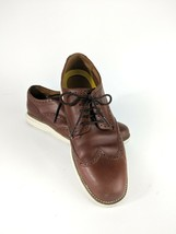 Cole Haan Original Grand Wingtip Oxford Chestnut Brown Size 10 Style C22793 - $74.20