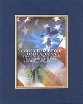 Greater Love Hath No Man than This - John 15:13. . . 8 x 10 Inches Biblical/R... - $10.95