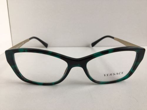 a19db8d50ce4 New Versace Mod. 3632 Green 52mm Cats Eye and 50 similar items