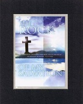The Rock of My Salvation - Psalm 18:46. . . 8 x 10 Inches Biblical/Religious ... - $10.95