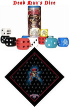 Dead Man's Dice Game of Piracy with Bandana - $9.95