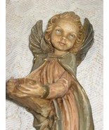 "Angel Statue-Resin-9"" with 3"" Wing Span-Italy - $16.00"