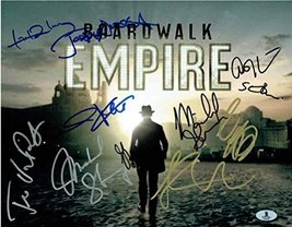 Boardwalk Empire Cast Signed 11x14 Photo Certified Authentic Beckett BAS COA - $692.99