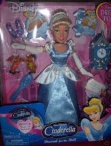 "Cinderella Dressed for the Ball Doll NEW 14"" Bonus CD - $25.00"