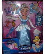 "Cinderella Dressed for the Ball Doll NEW 14"" Bonus CD - $25.00"