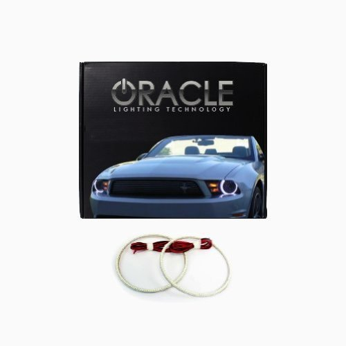 Oracle Lighting FO-MU1012-W - Ford Mustang LED Halo Headlight Rings - White - $143.65