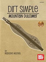 Dirt Simple Mountain Dulcimer/Book w/CD Set/New! - $14.99
