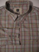 Men's Levi's 16 16 1/2 Large Shirt 100% Cotton Snaps Down Multi Color - $16.44