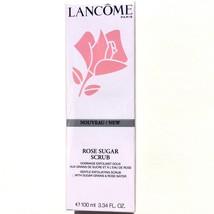 LANCOME EXFOLIATING ROSE SUGAR SCRUB 3.34oz/100 ml Full Size NIB 3614272... - $19.99