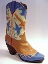 Home on the Range Cowboy Boots Americana Ranchers to Rockers Just the Ri... - $39.99