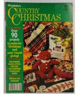 Simplicity's Country Christmas  - $3.99