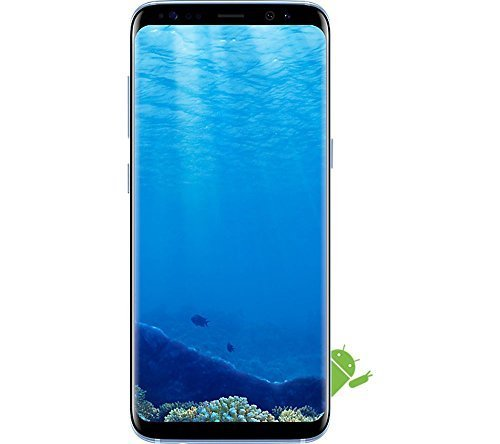 Samsung Galaxy S8 Unlocked 64GB - US Version (Coral Blue )