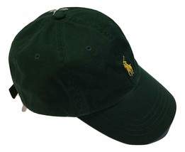 Ralph Lauren Polo Men's Classic Twill Baseball Hat Green One Size - $34.55